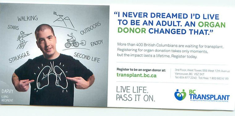 BC Transplant Info Card